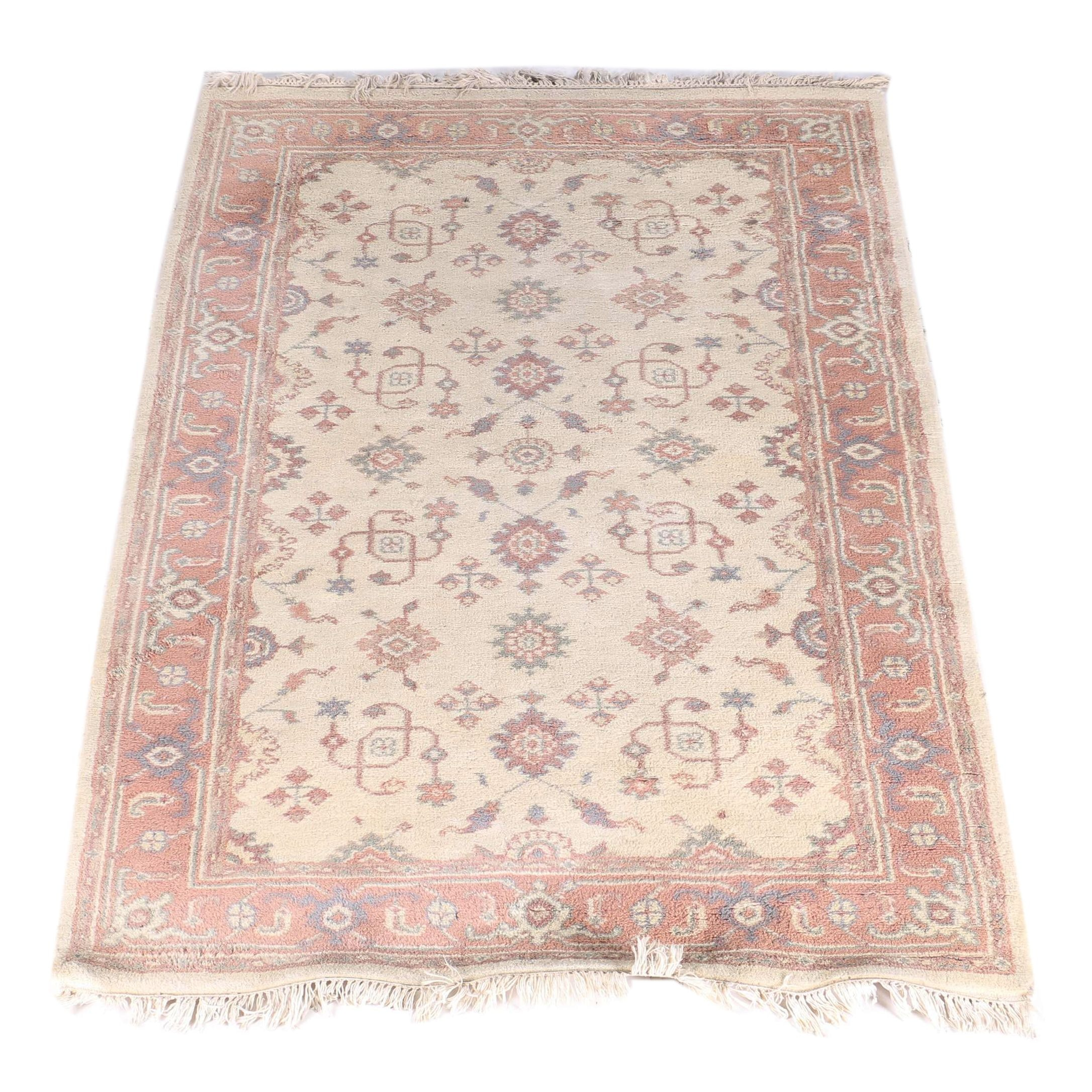 Macy's Hand-Knotted Indo-Oushak Wool Area Rug