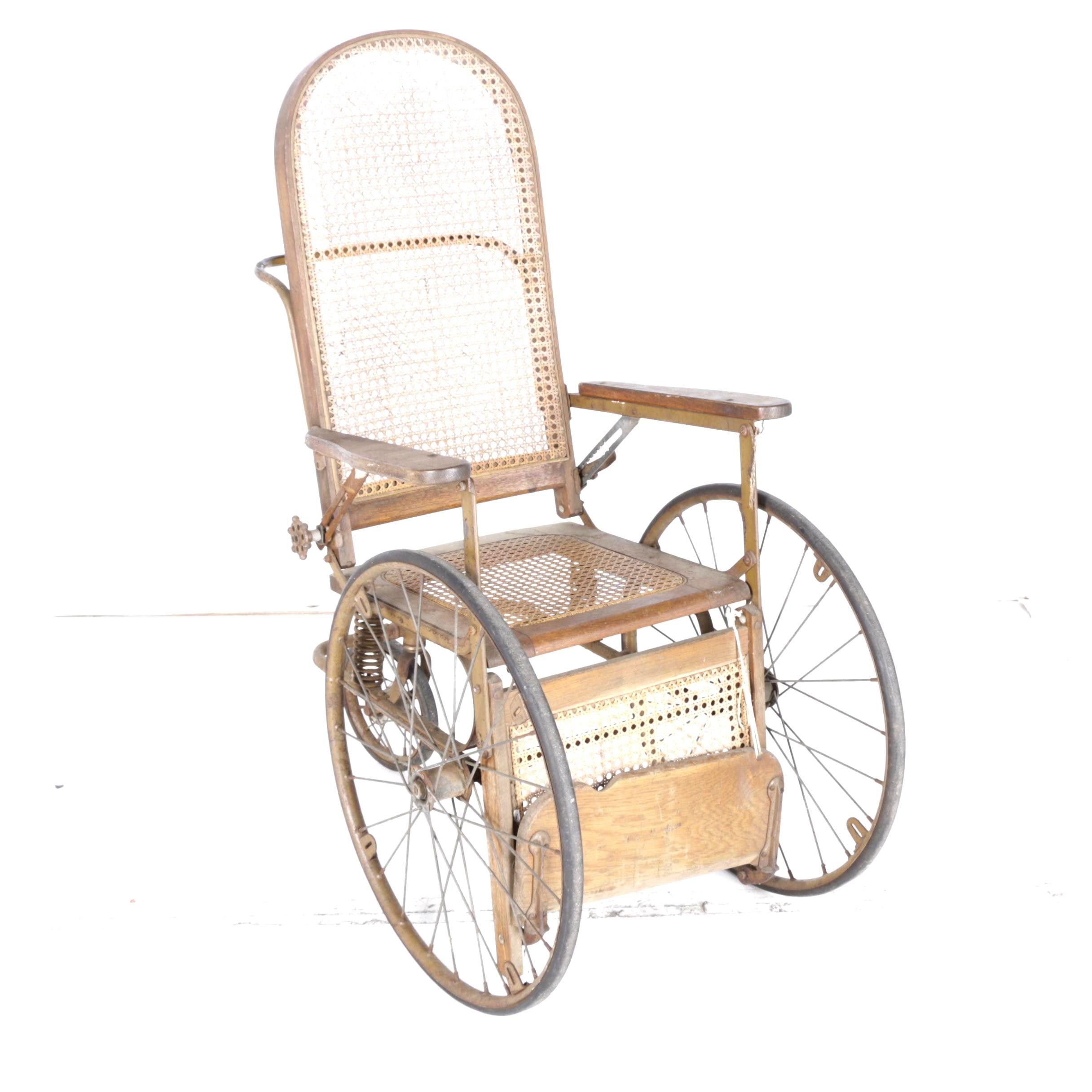 Circa 1930s The Gendron Wheel Co. Wheelchair