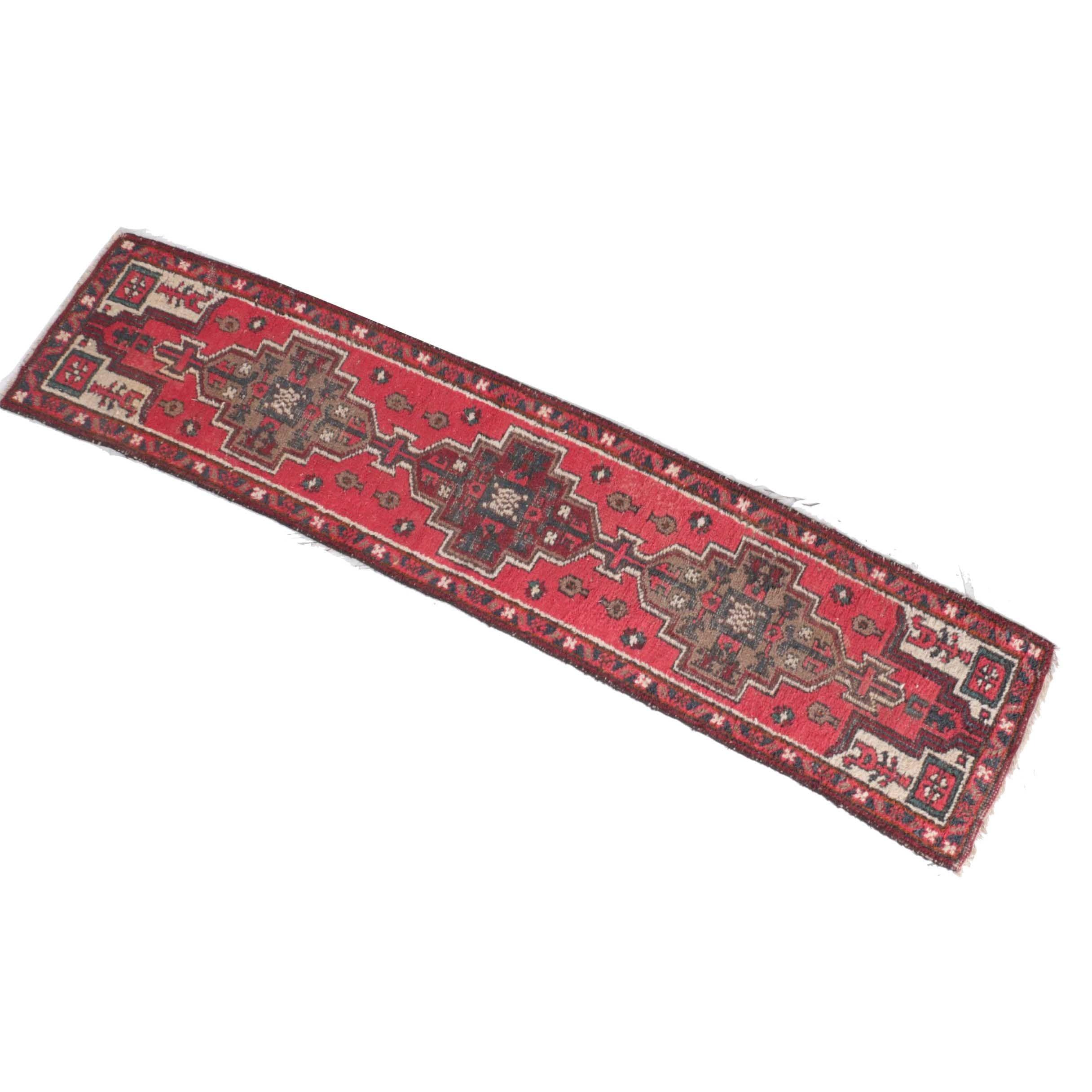 Semi-Antique Central Asian Carpet Runner