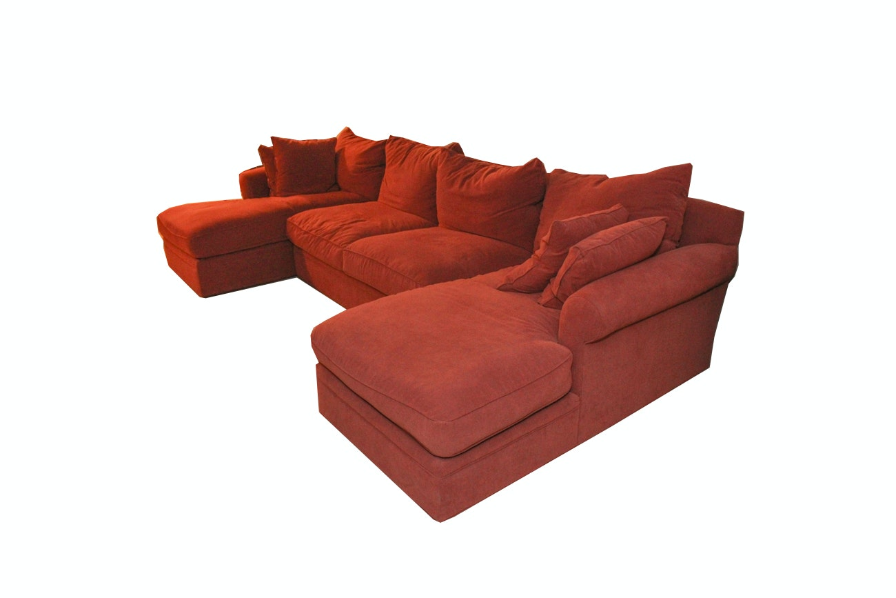Sectional Chaise Sofa by Danberry