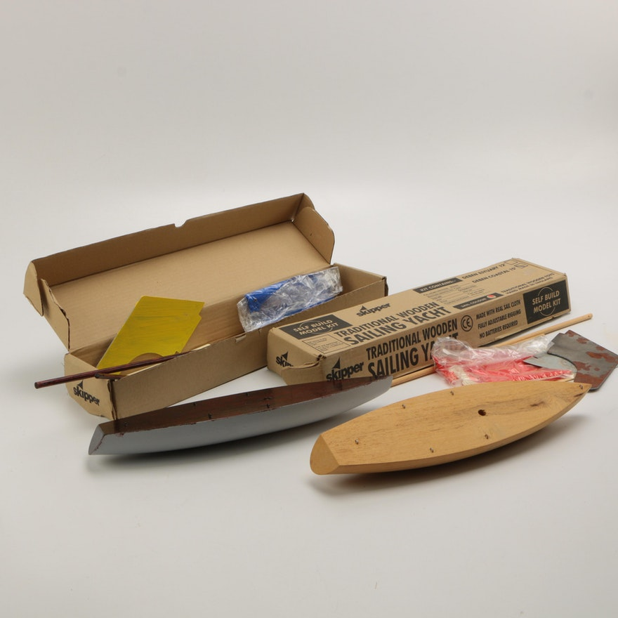 Skipper Sailing Yacht Model Kits
