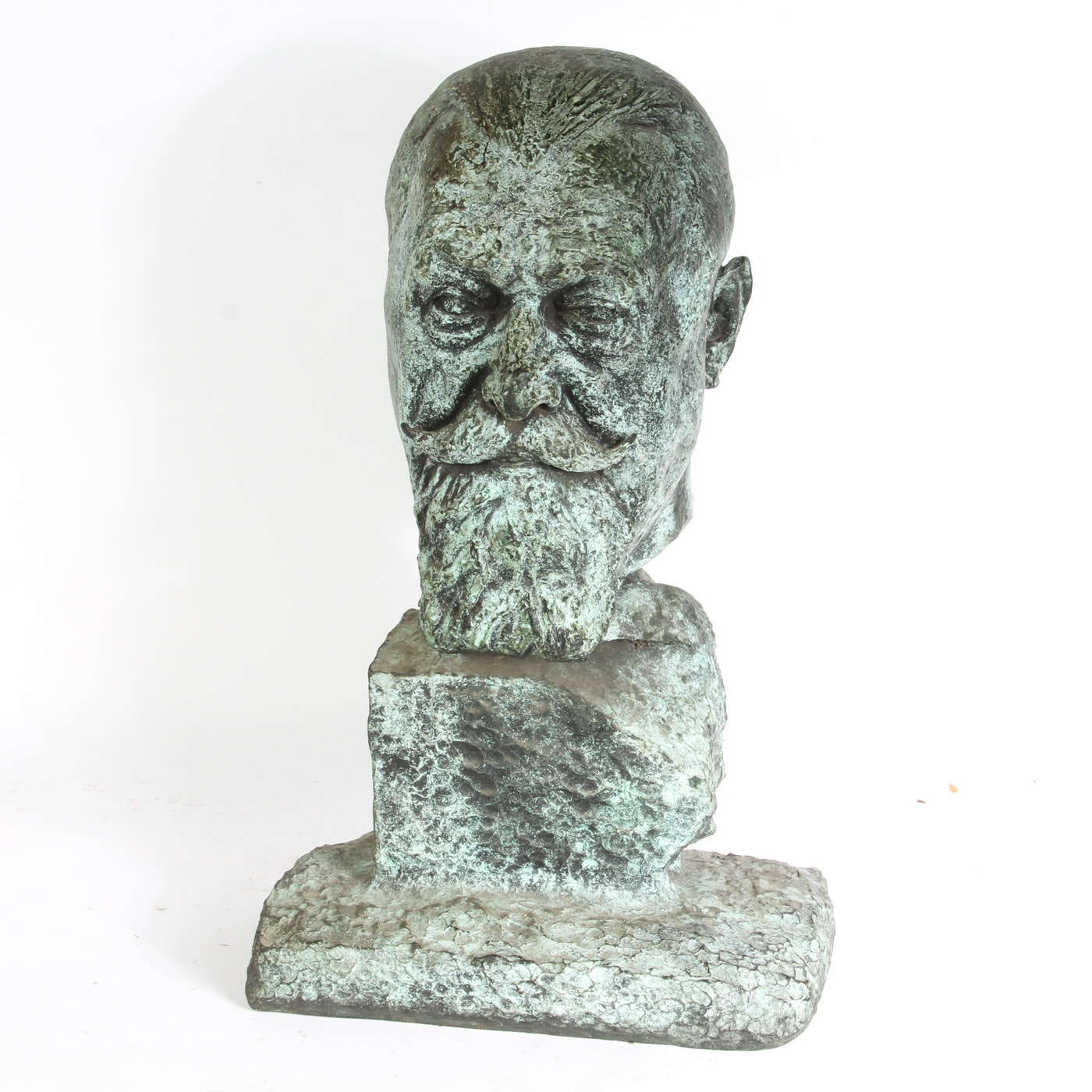 Vintage Bronze Bust