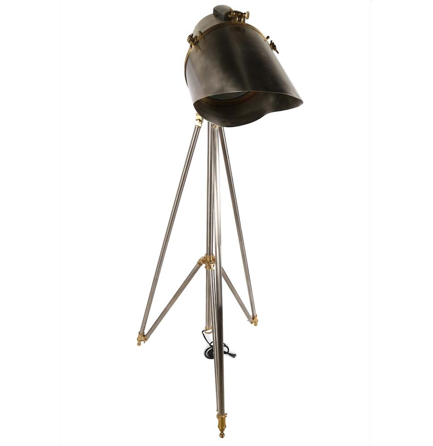 cutter tripod floor lamp from ralph lauren home ebth