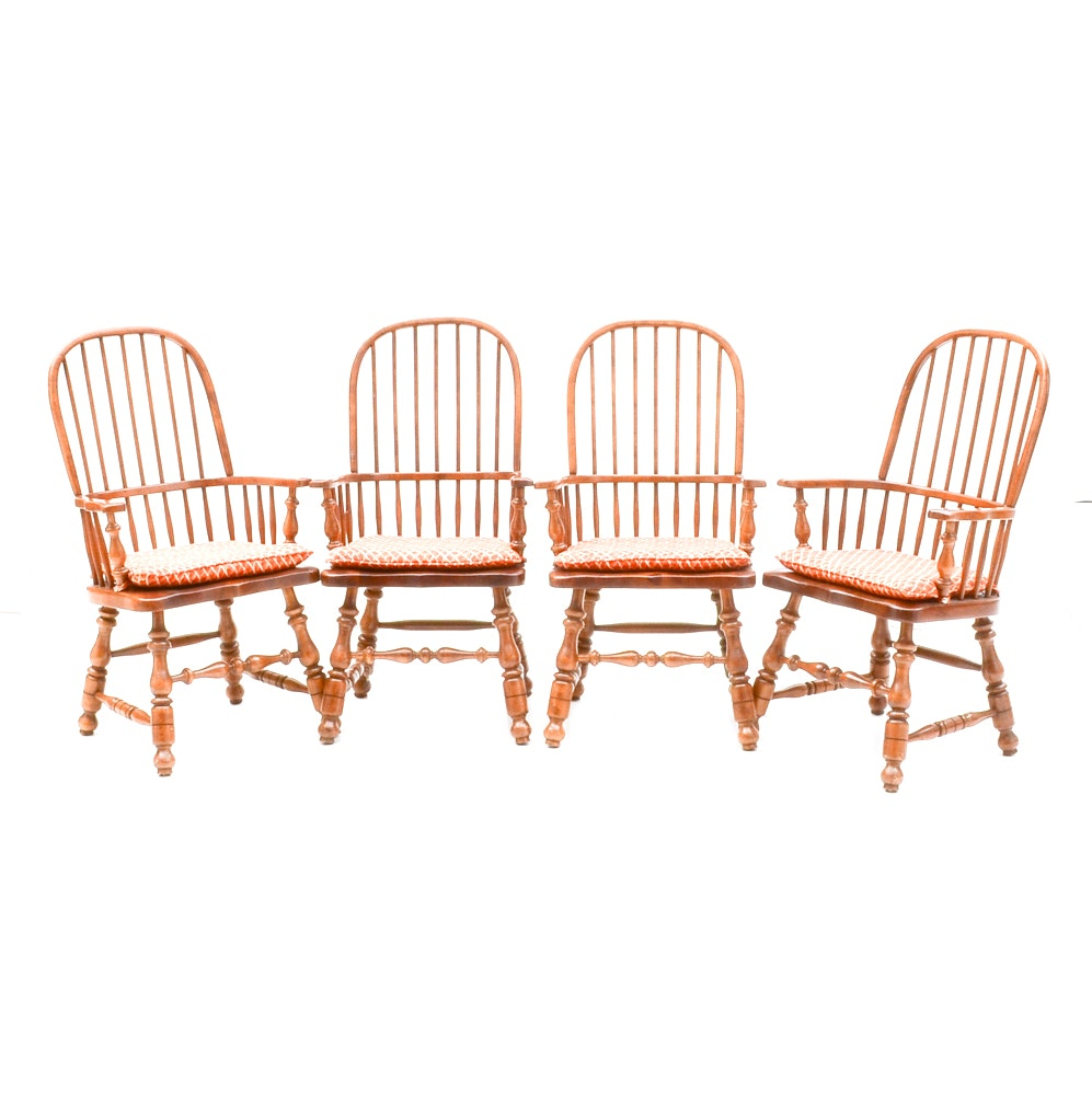 Set of Country Style Armchairs