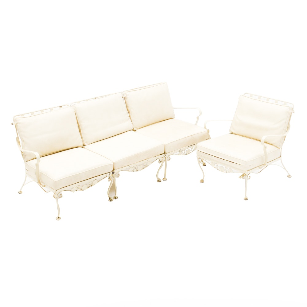 Set of Vintage Mid-Century Patio Seating