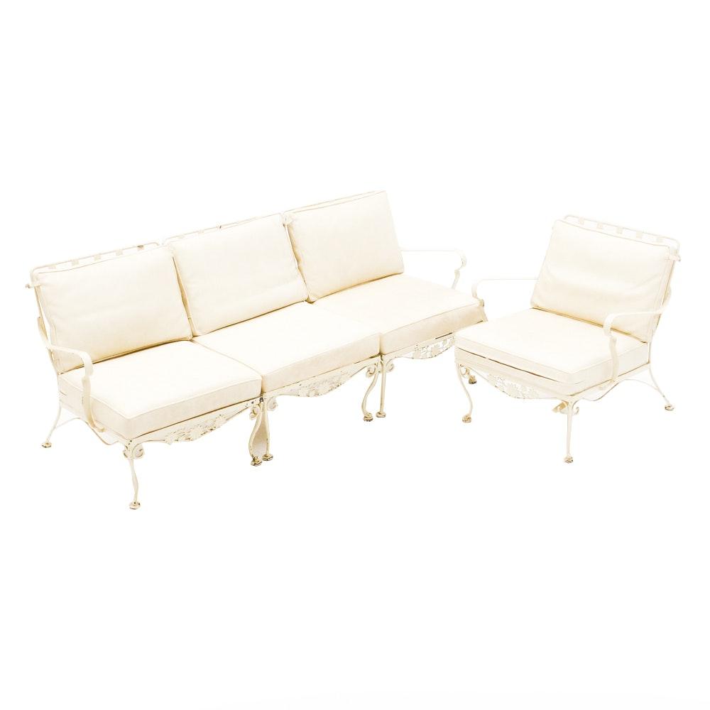 Set of Vintage Mid-Century Patio Seating