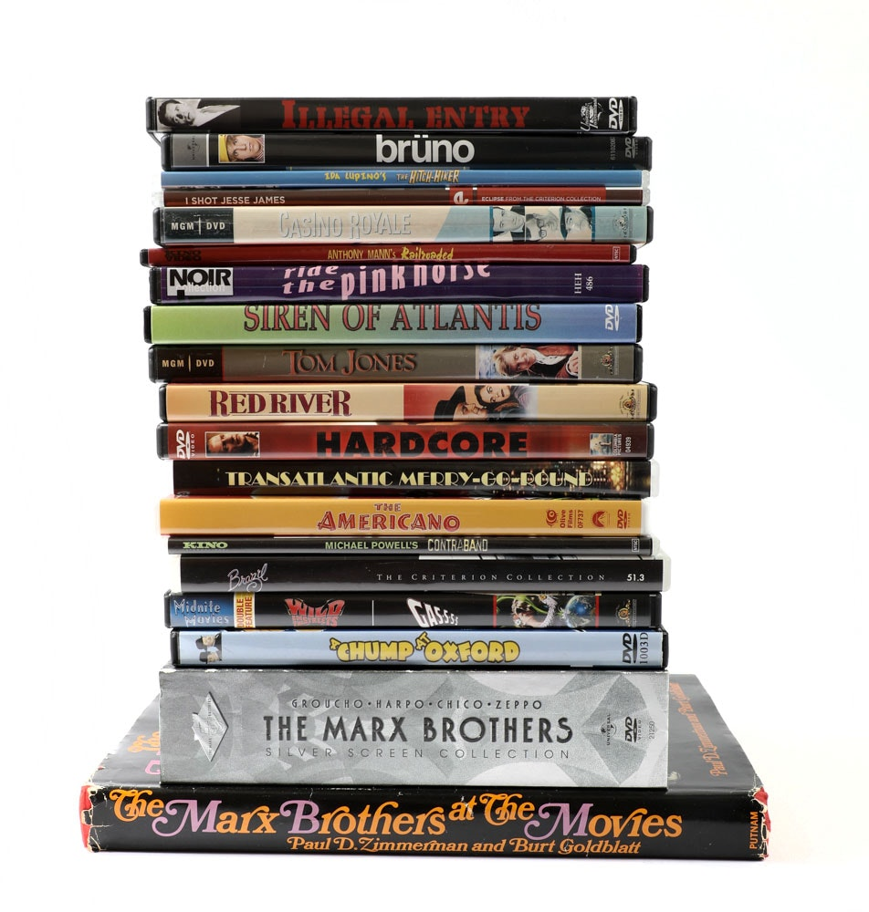 Marx Brothers, Other DVDs and Book : EBTH