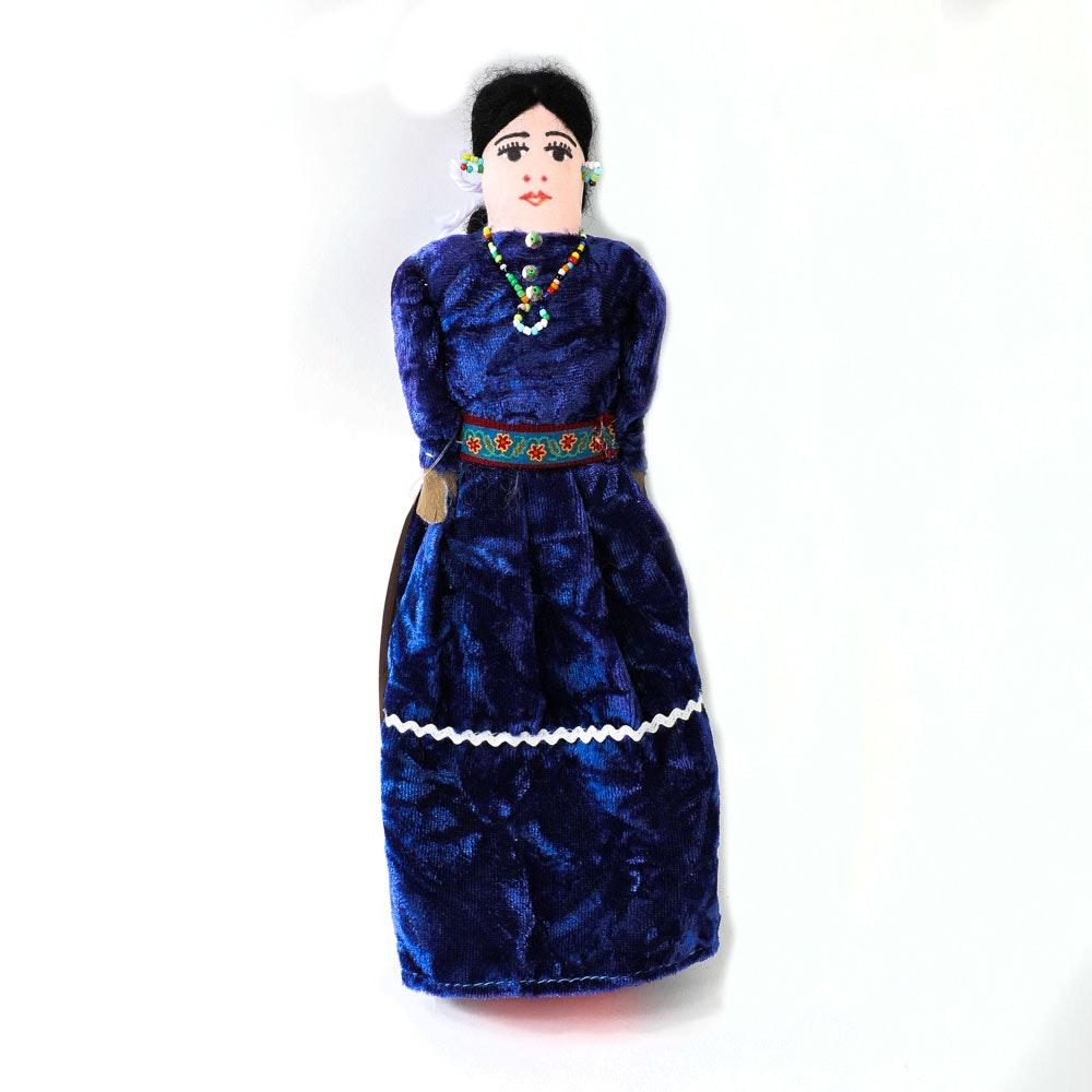 Vintage Fred Harvey Trading Company Handmade Navajo Doll