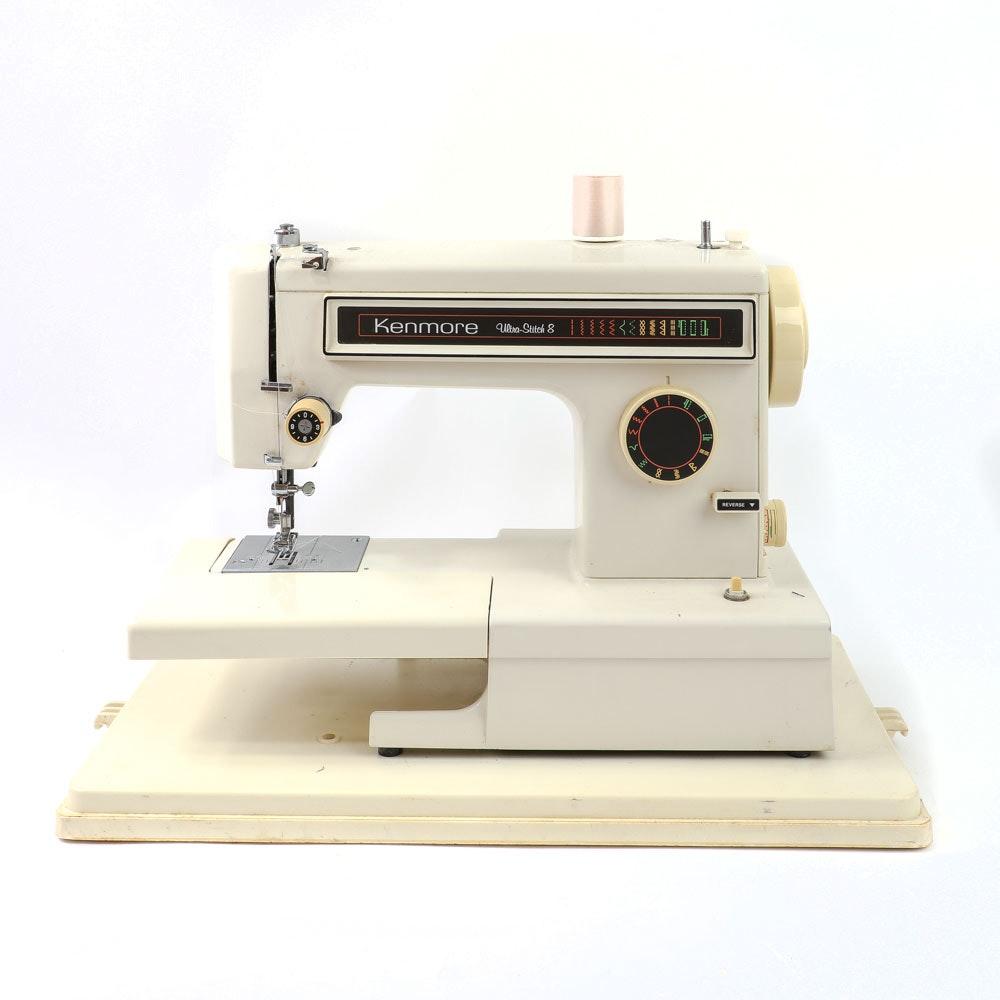 Vintage Kenmore Ultra-Stitch 8 Sewing Machine
