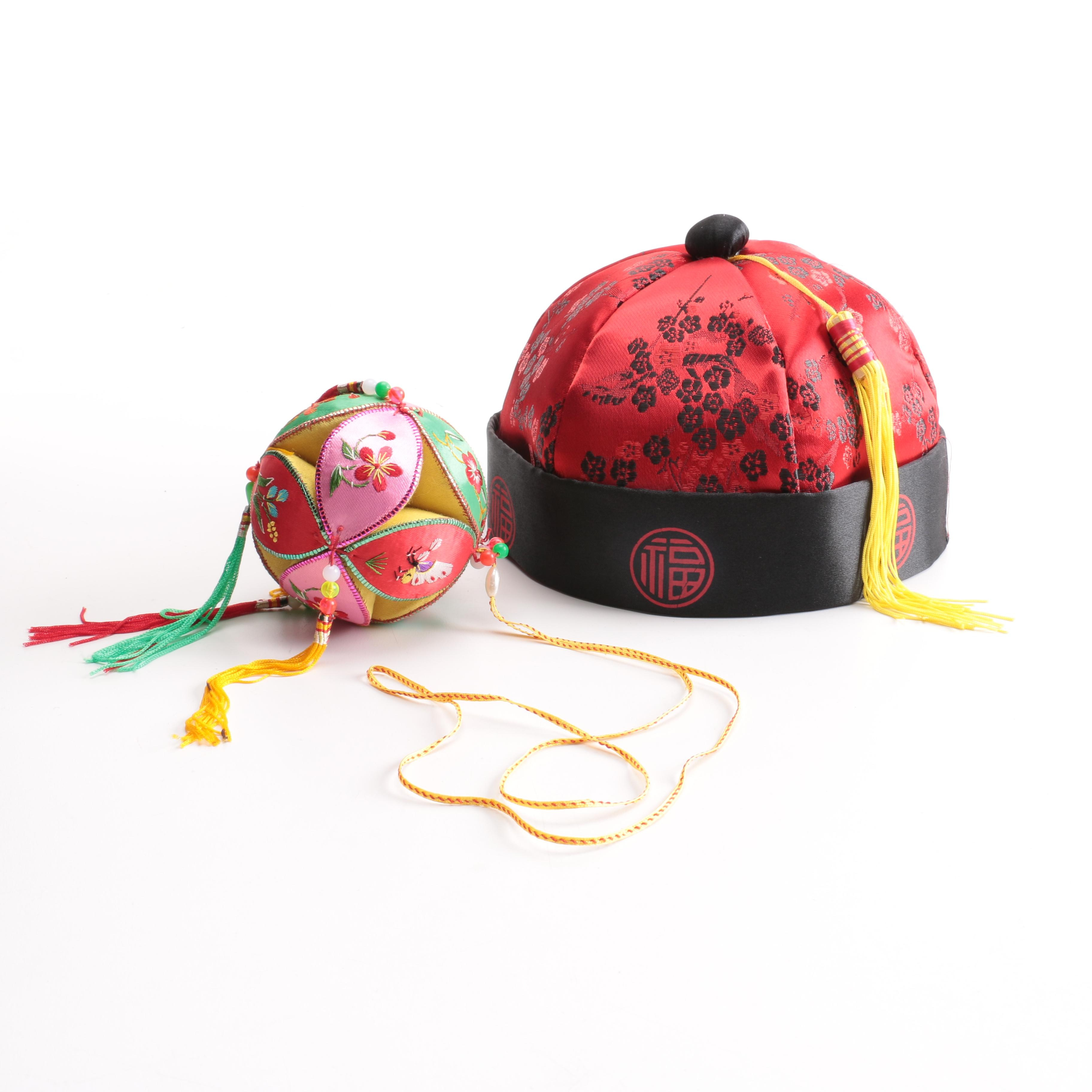 Amscan Chinese Style Souvenir Hat and Decorative Tassel