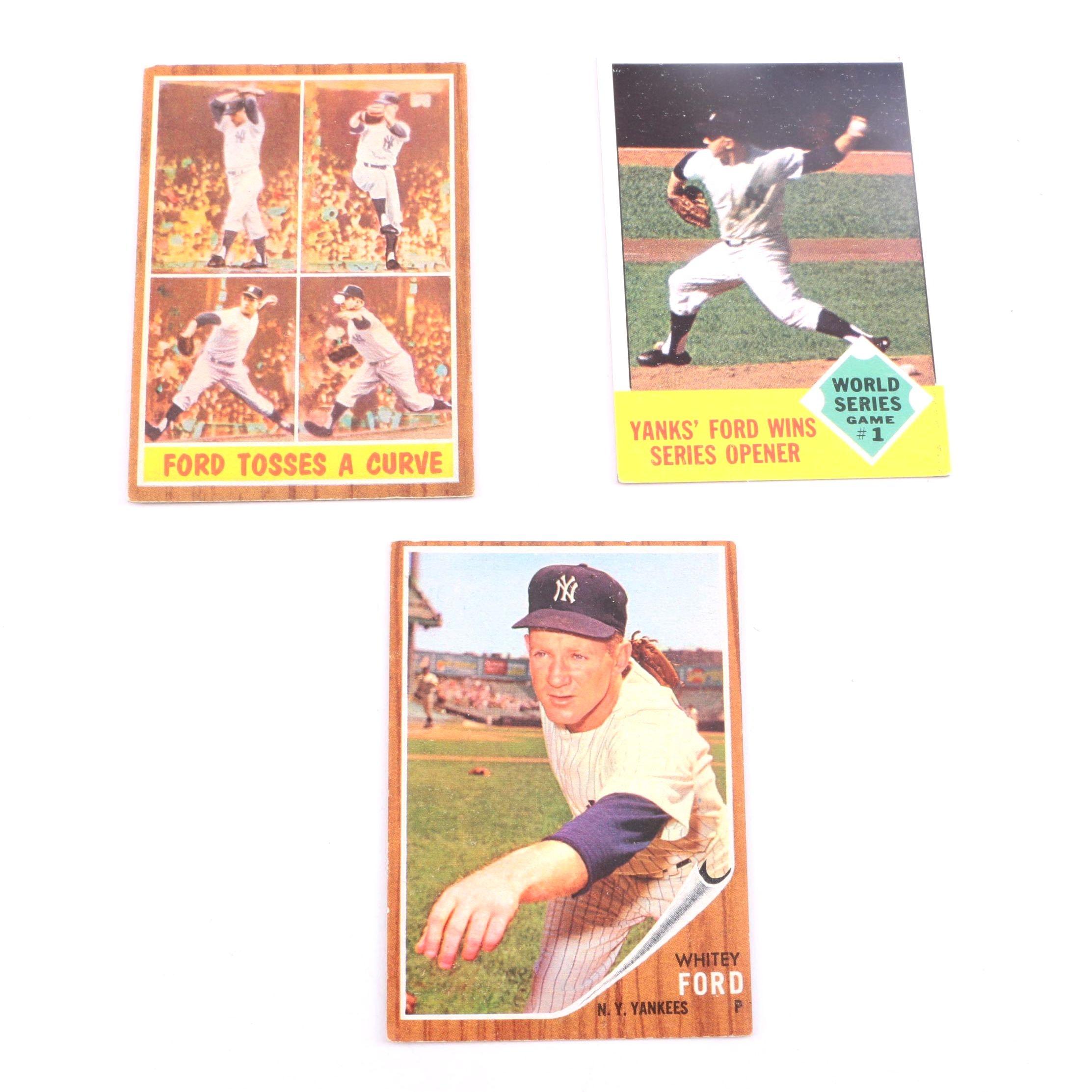 Whitey Ford Baseball Cards