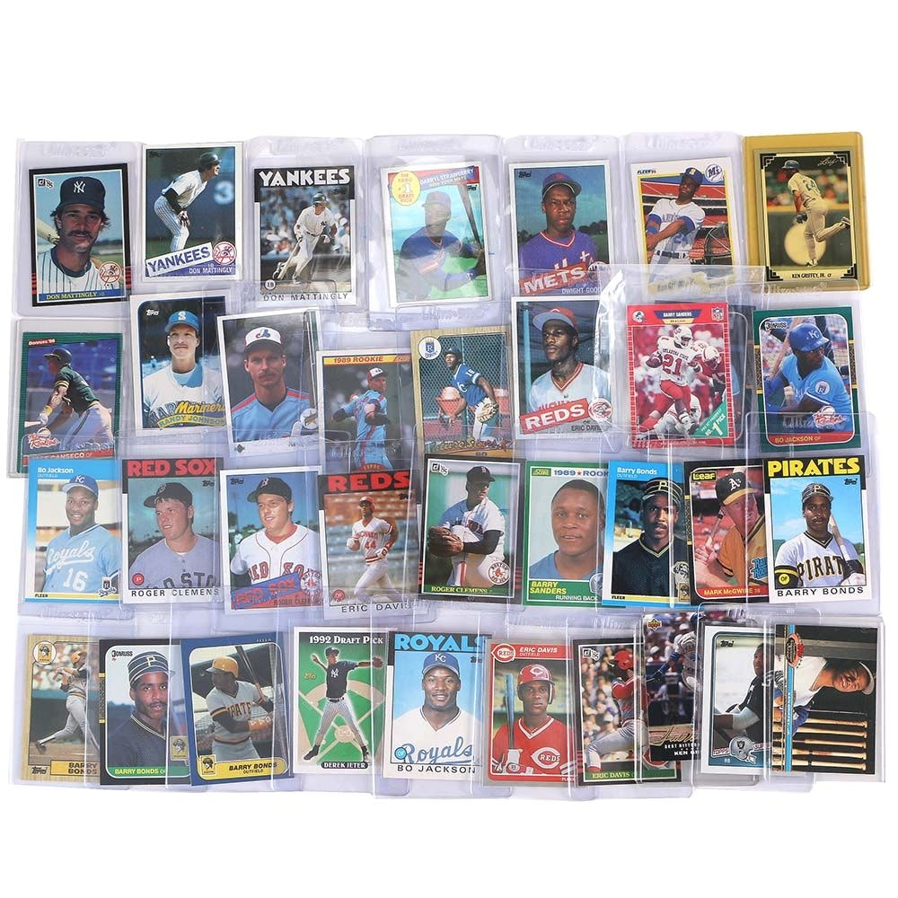 Collection of 1980s Baseball Cards