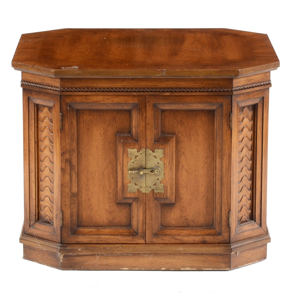 Vintage Octagonal Accent Table