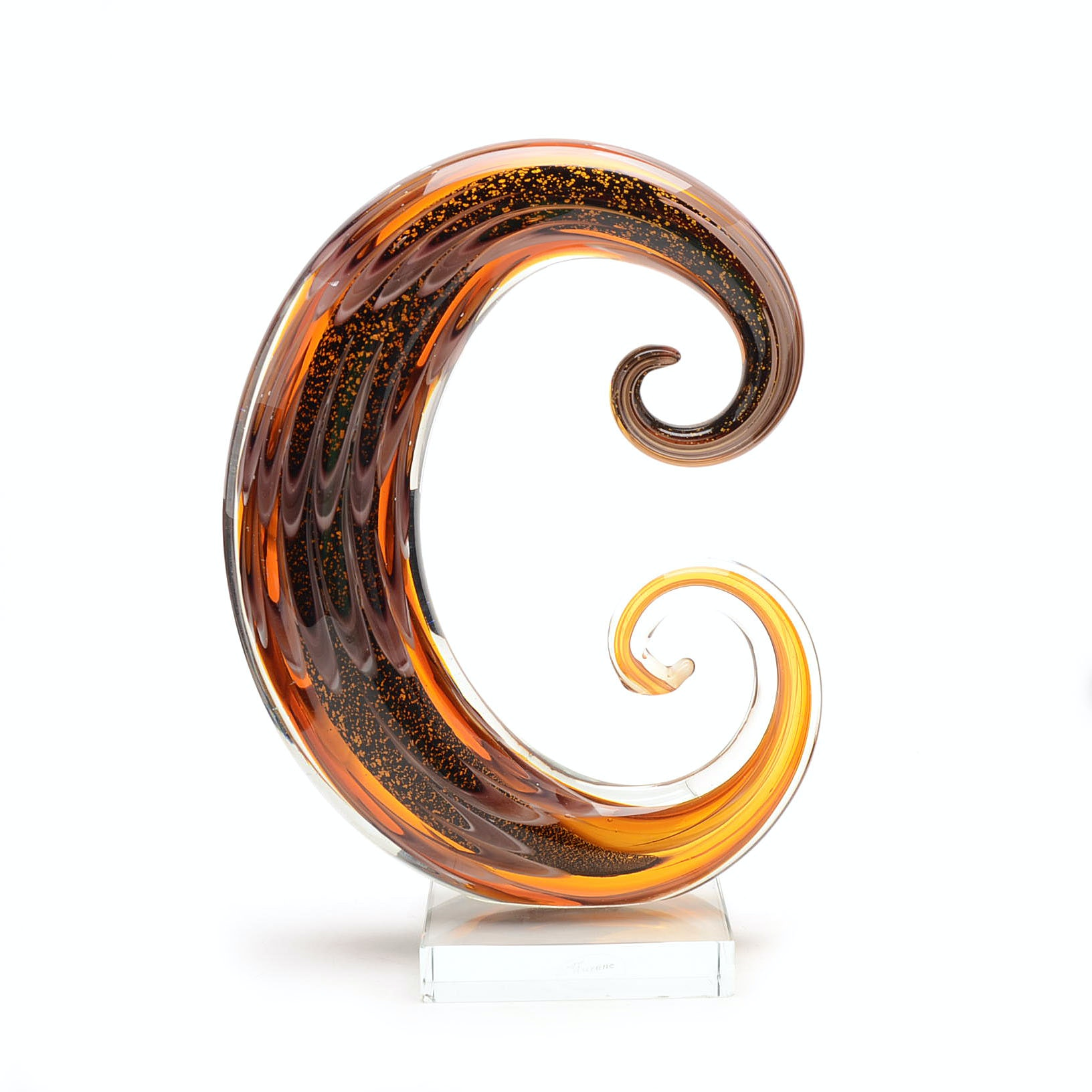 Murano Glass Abstract Sculpture