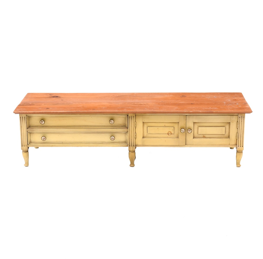 Vintage Louis XVI Style Credenza or Coffee Table