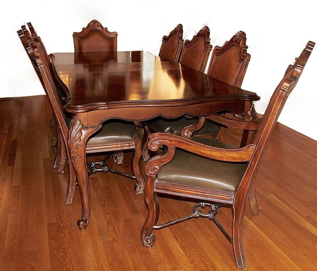 antique bernhardt furniture. Perfect Bernhardt Bernhardt Chippendale Style Dining Table With Eight Chairs And Antique Furniture
