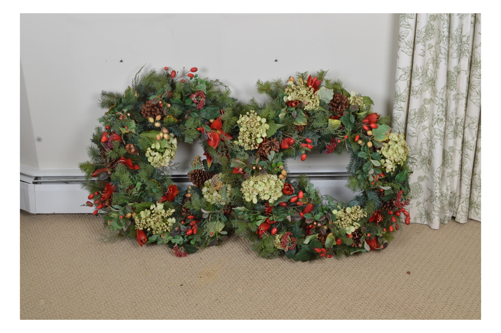 Set of Christmas Wreaths