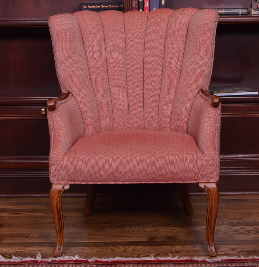 Antique Red Armchair
