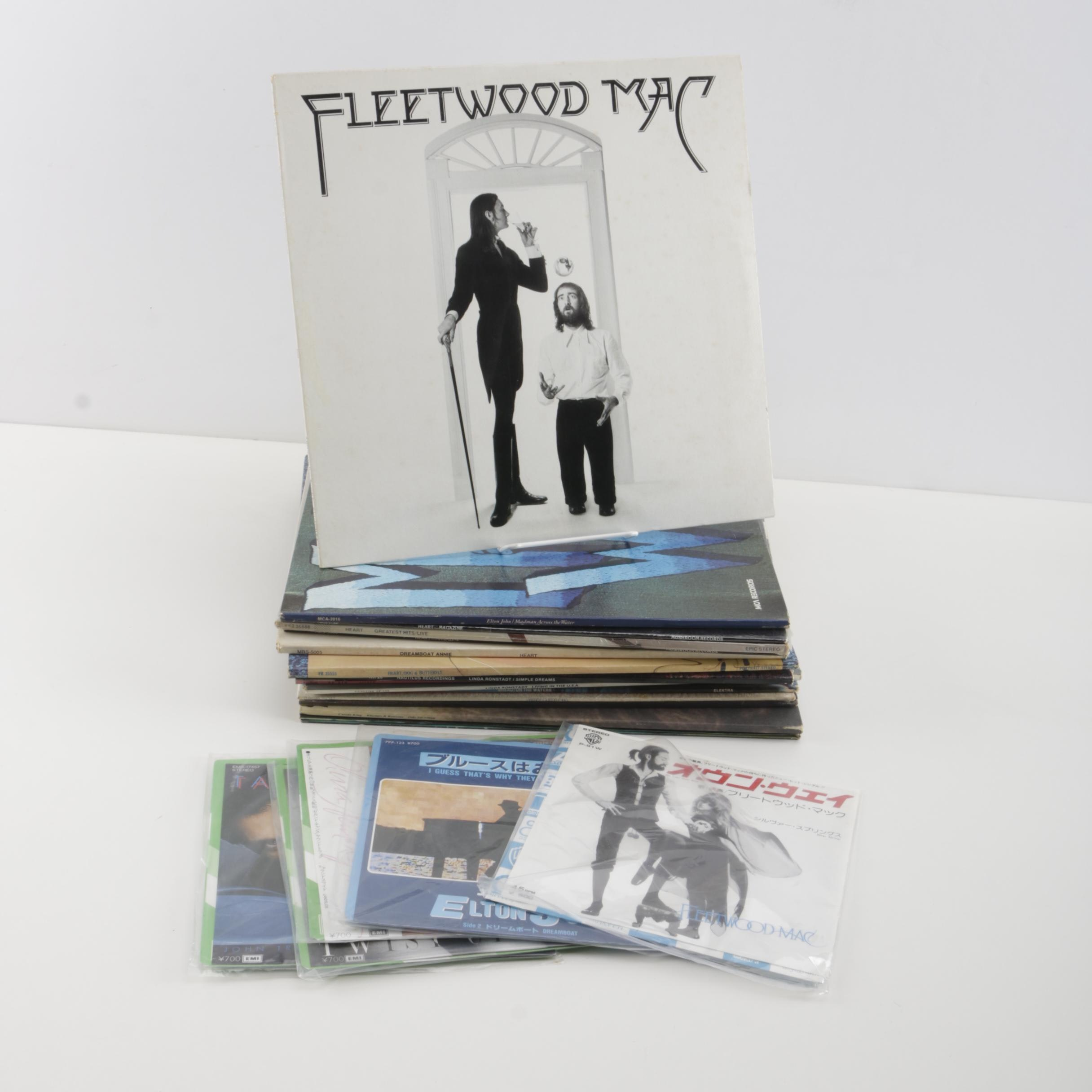 Domestic and Japanese Pressings of Fleetwood Mac, Other Records