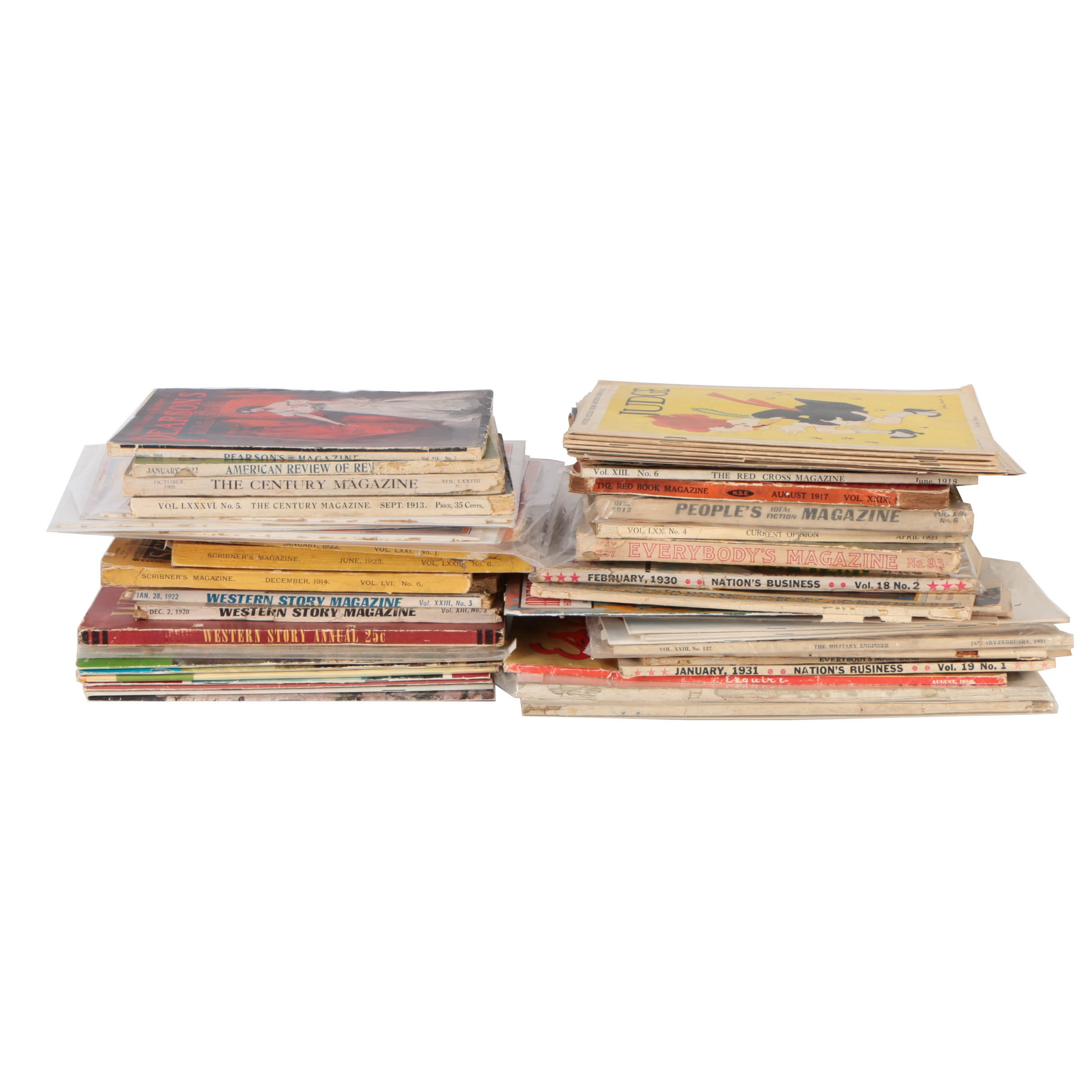 Collection of Vintage Magazines