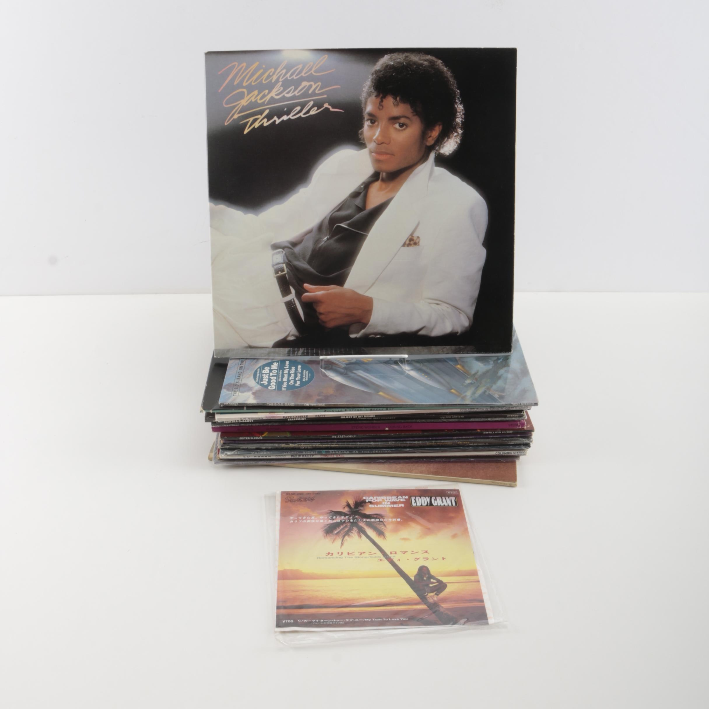 Soul, R&B Records Featuring Michael Jackson, Smokey Robinson, Tina Turner