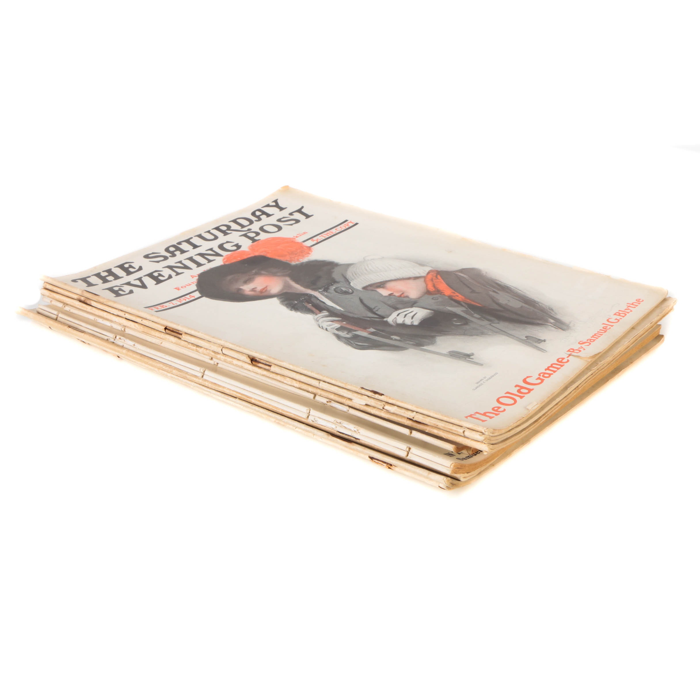 "Collection of ""The Saturday Evening Post"" from 1914"