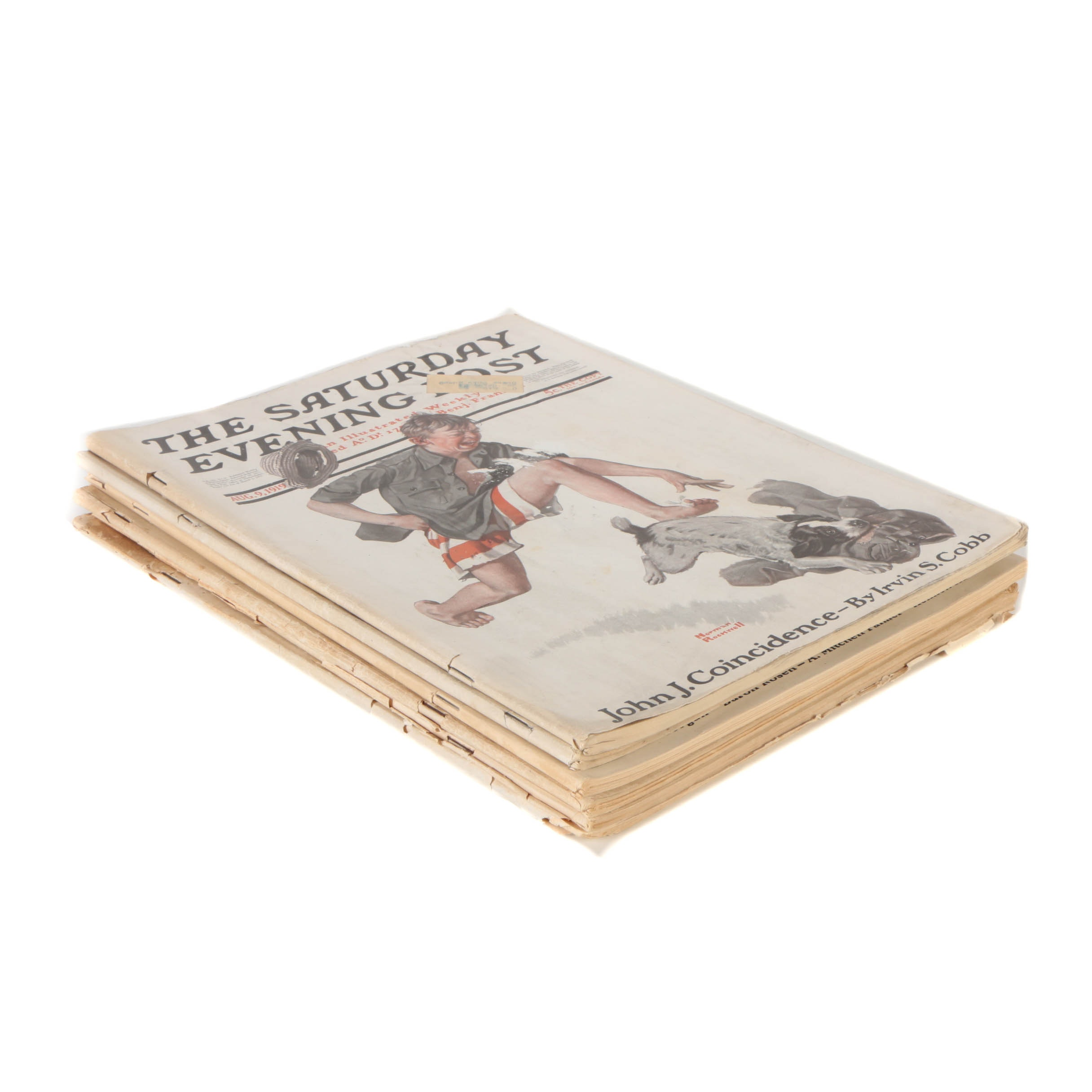 "Collection of ""The Saturday Evening Post"" from 1919"
