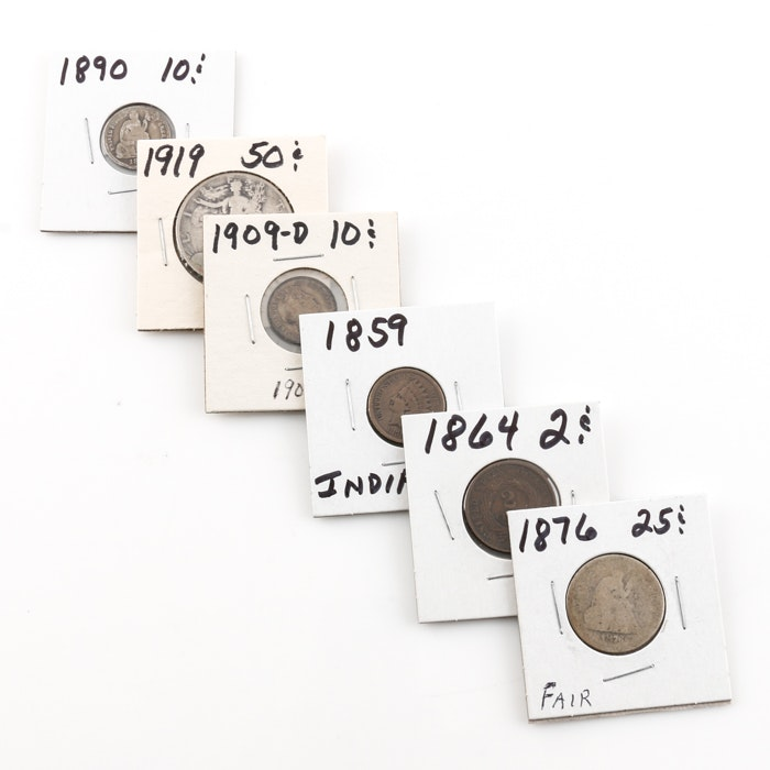 Assortment of Antique U.S. Coins