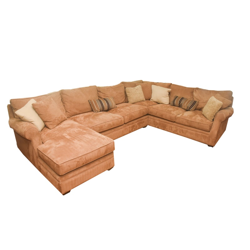 Upholstered Sectional Couch By Arhaus Ebth