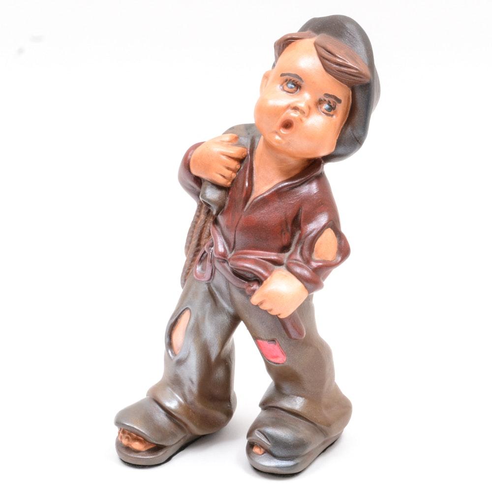 Young Boy Figurine