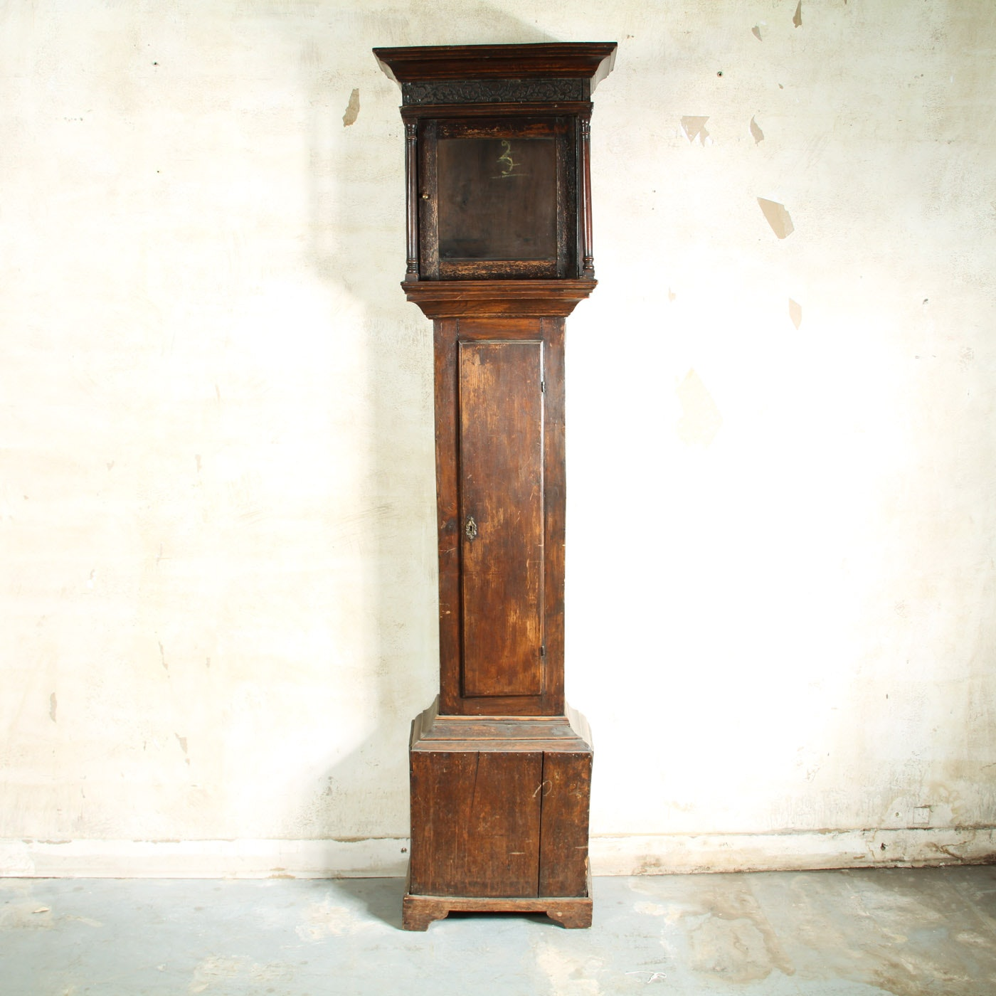 18th Century English Grandfather Clock Case