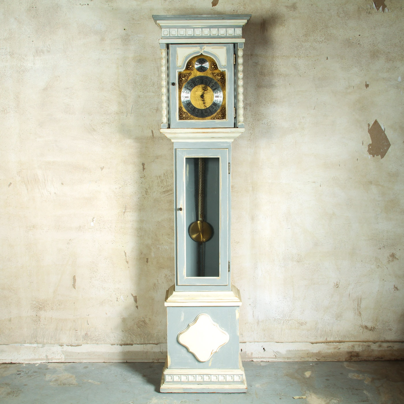 Tempus Fugit Grandmother Clock