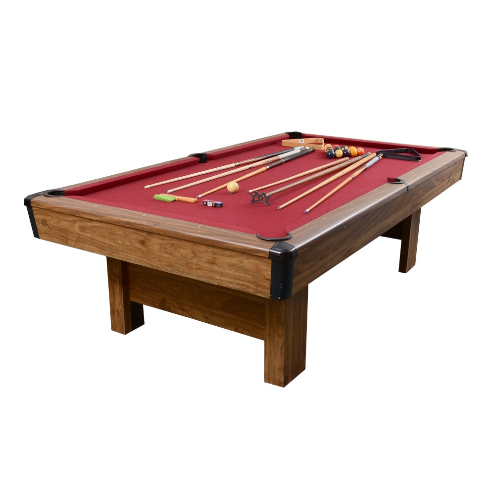 Windsor Slate Billiard Table and Accessories