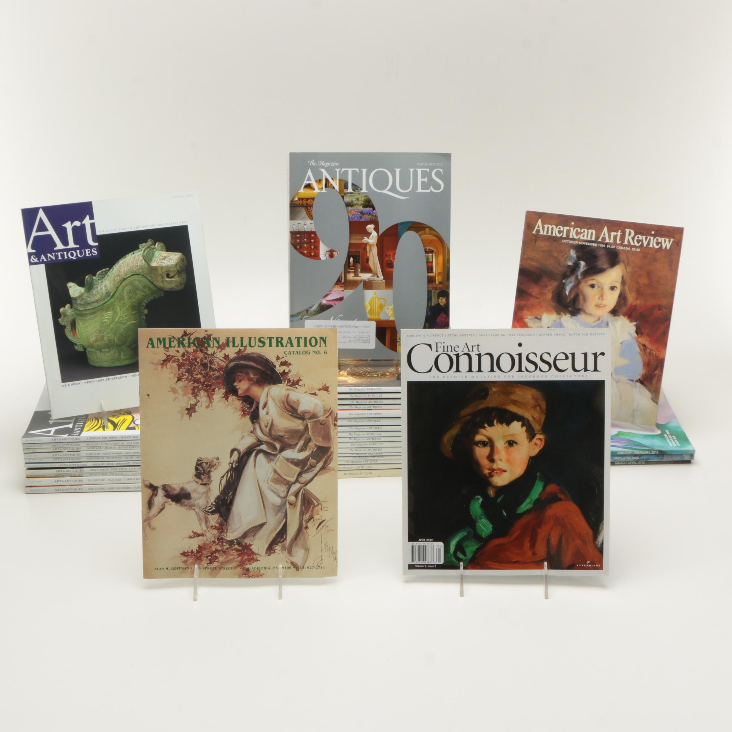 Collection of Art and Antique Magazines
