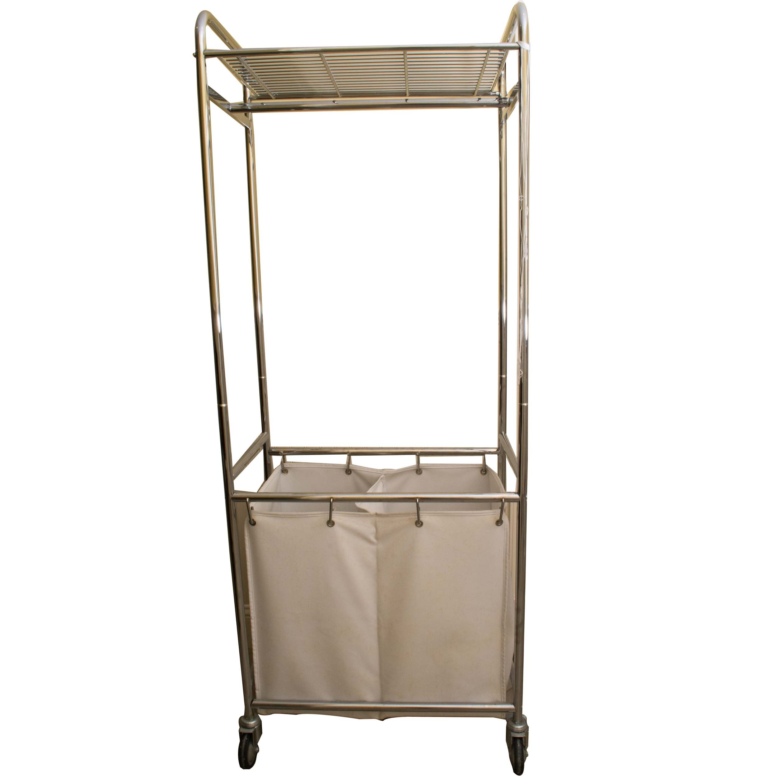 Metal Clothing Rack and Cart