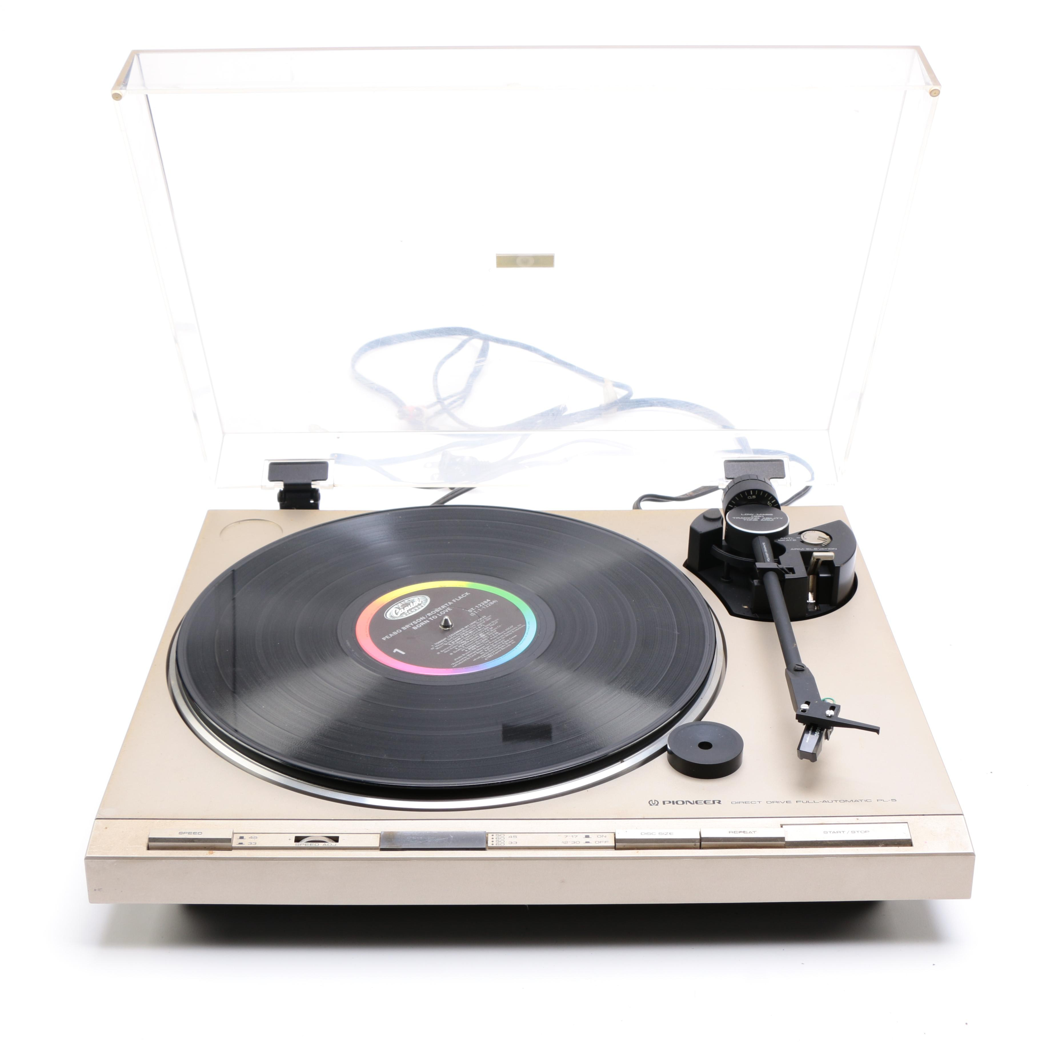 Pioneer PL-5 Direct Drive Automatic Turntable