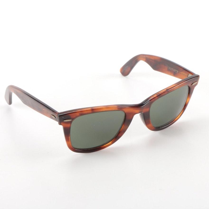 724e58e837 Vintage B L Ray-Ban Wayfarer Sunglasses   EBTH