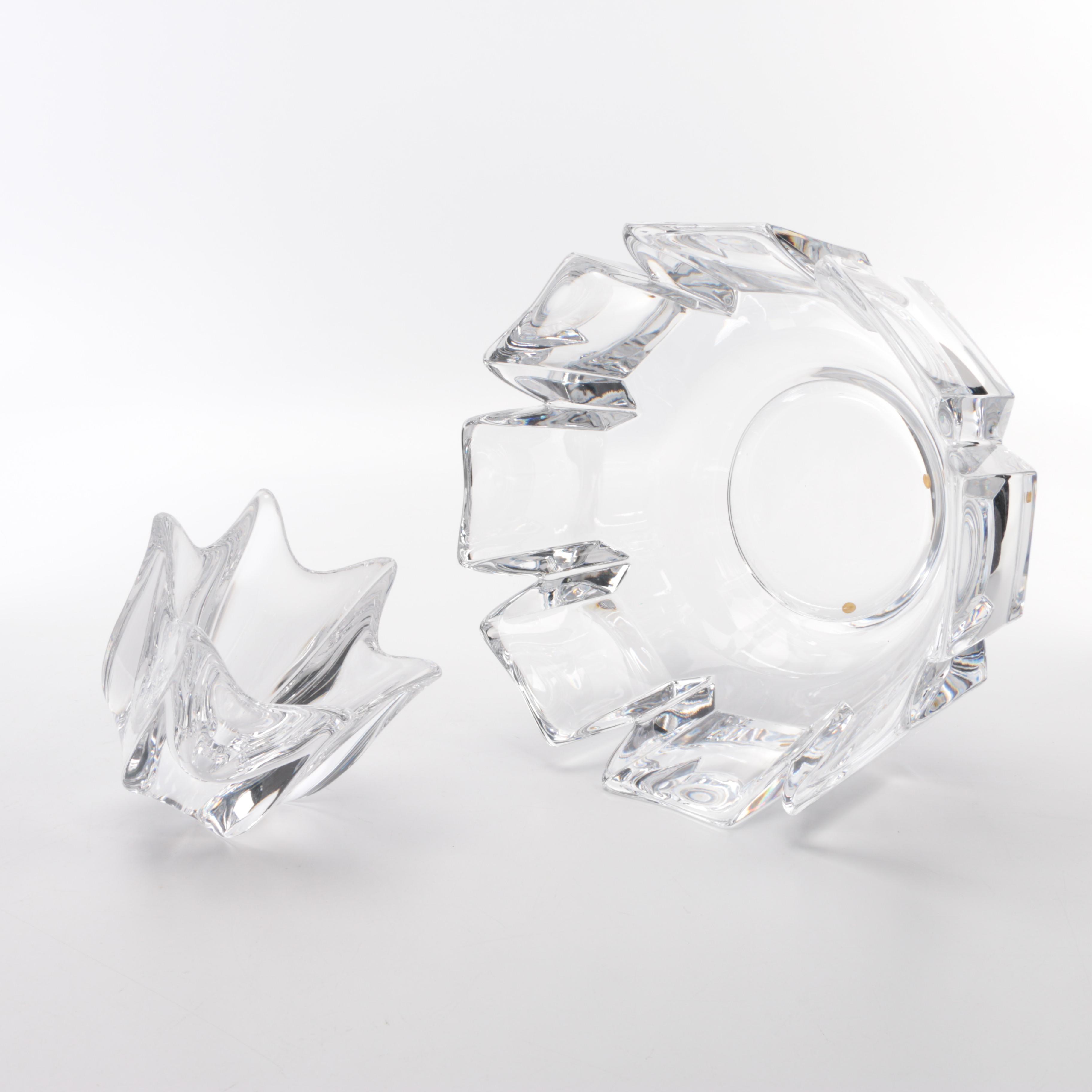 Orrefors Crystal Bowls