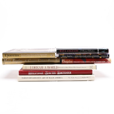 Collection of Maya Angelou and African American Experience Books