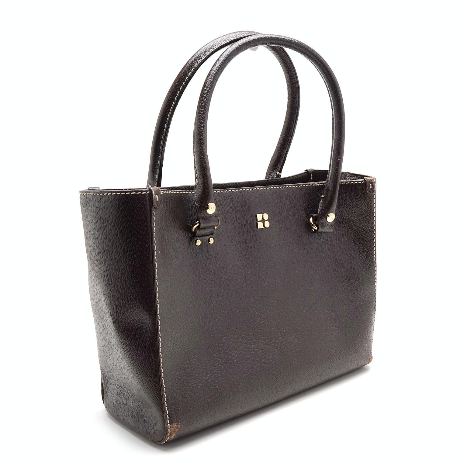 Kate Spade Brown Leather Satchel