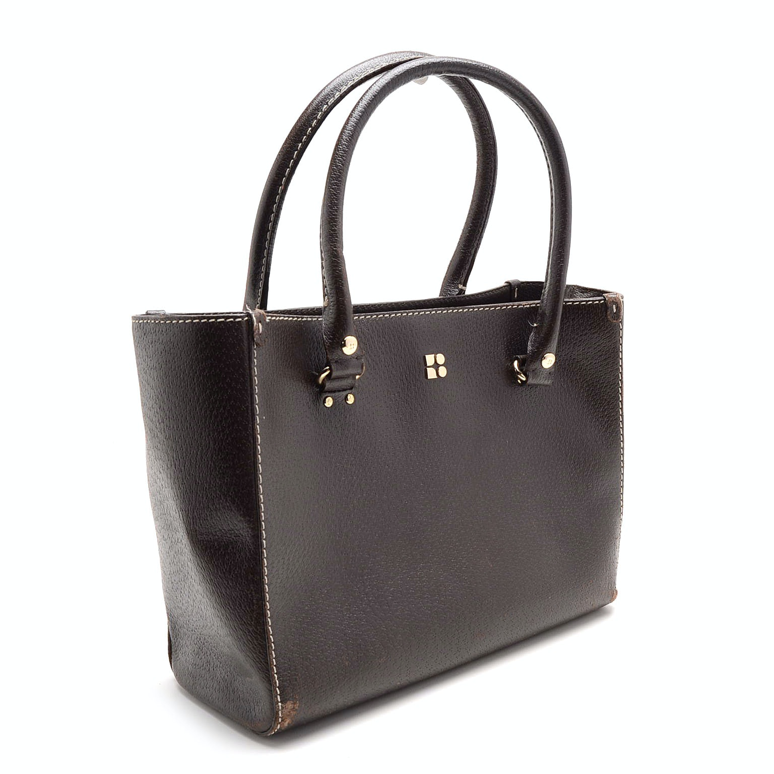 Kate Spade Brown Leather Satchel