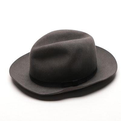 VIntage Men's Borsalino Italian Hat
