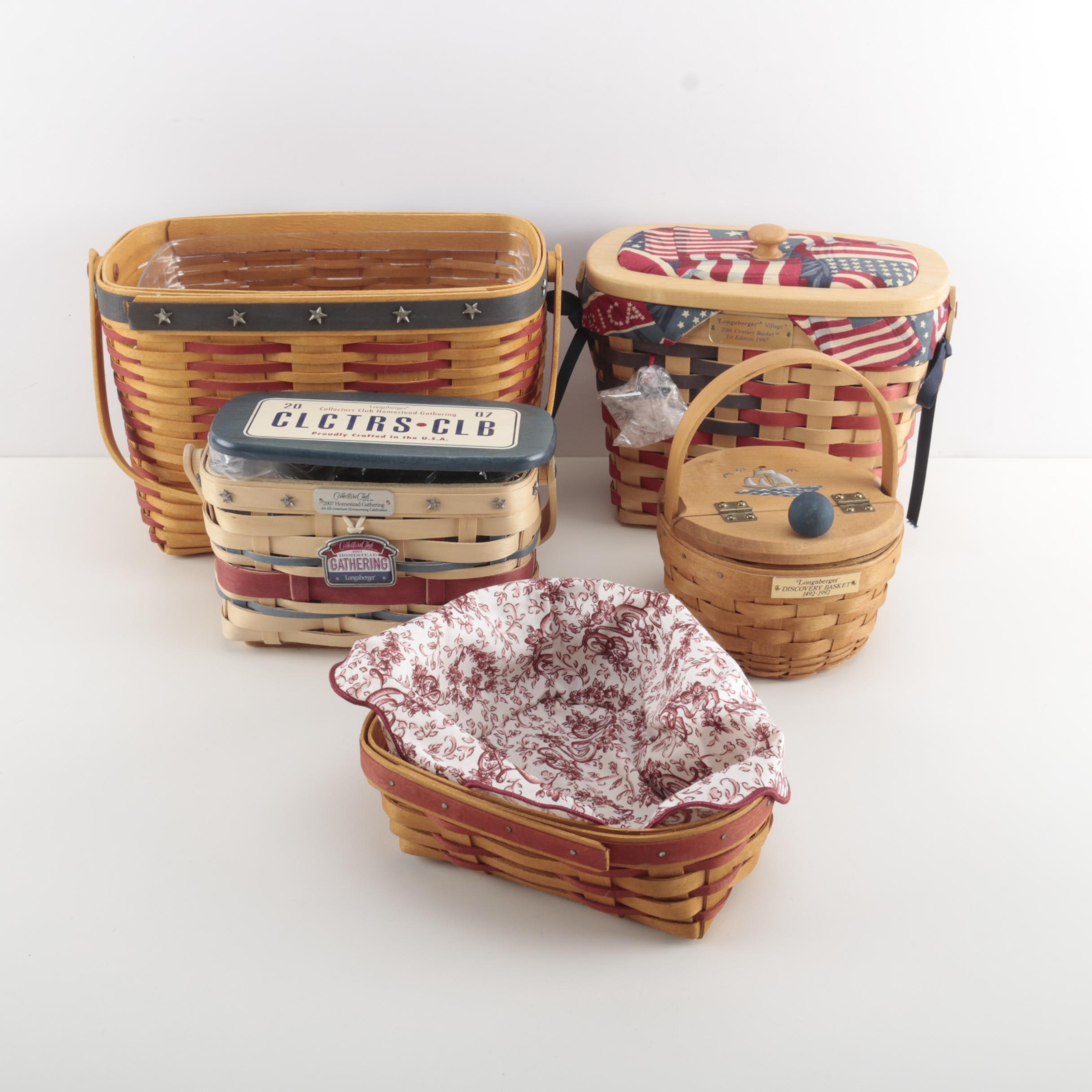 Longaberger Collector's Club Baskets
