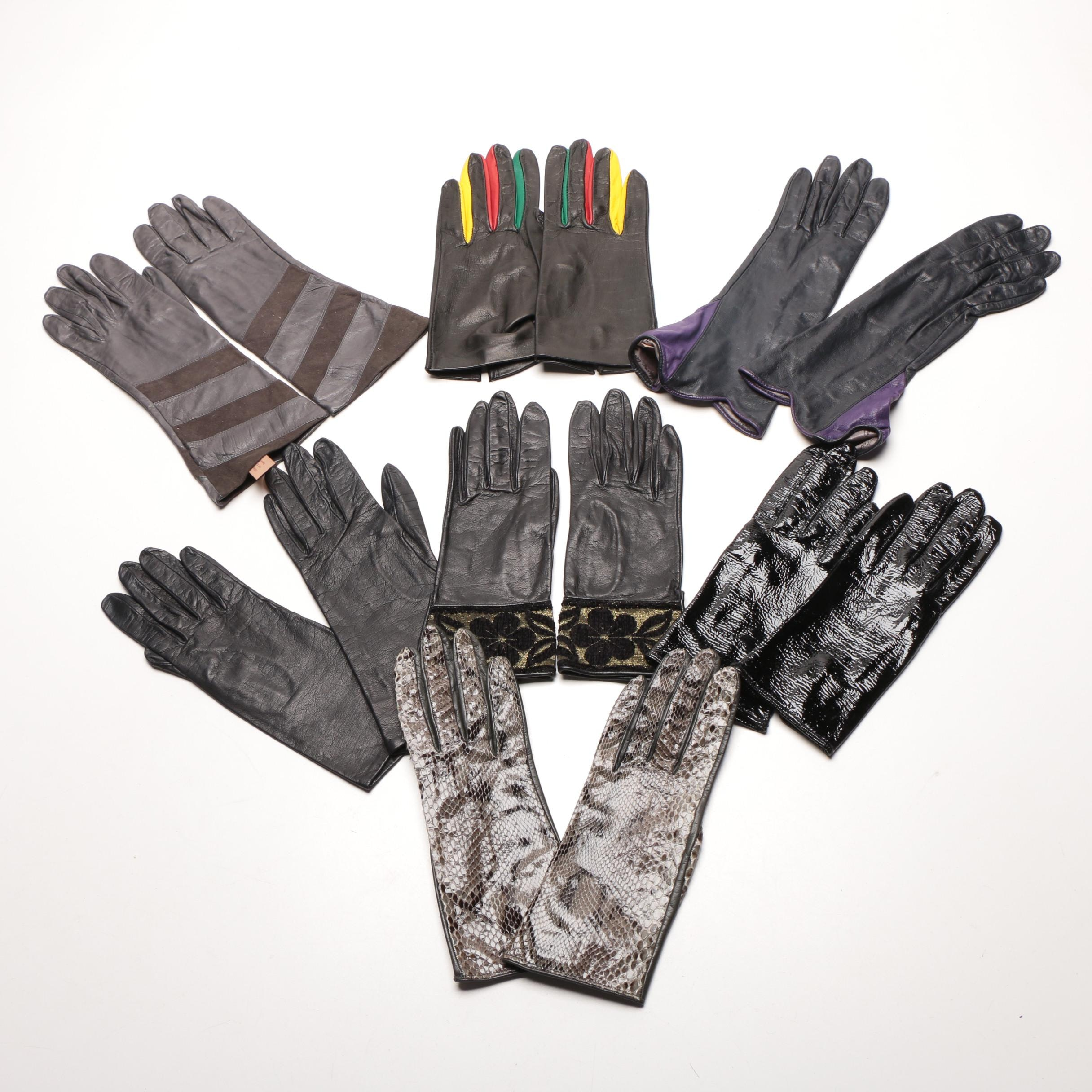 Assortment of Leather Gloves