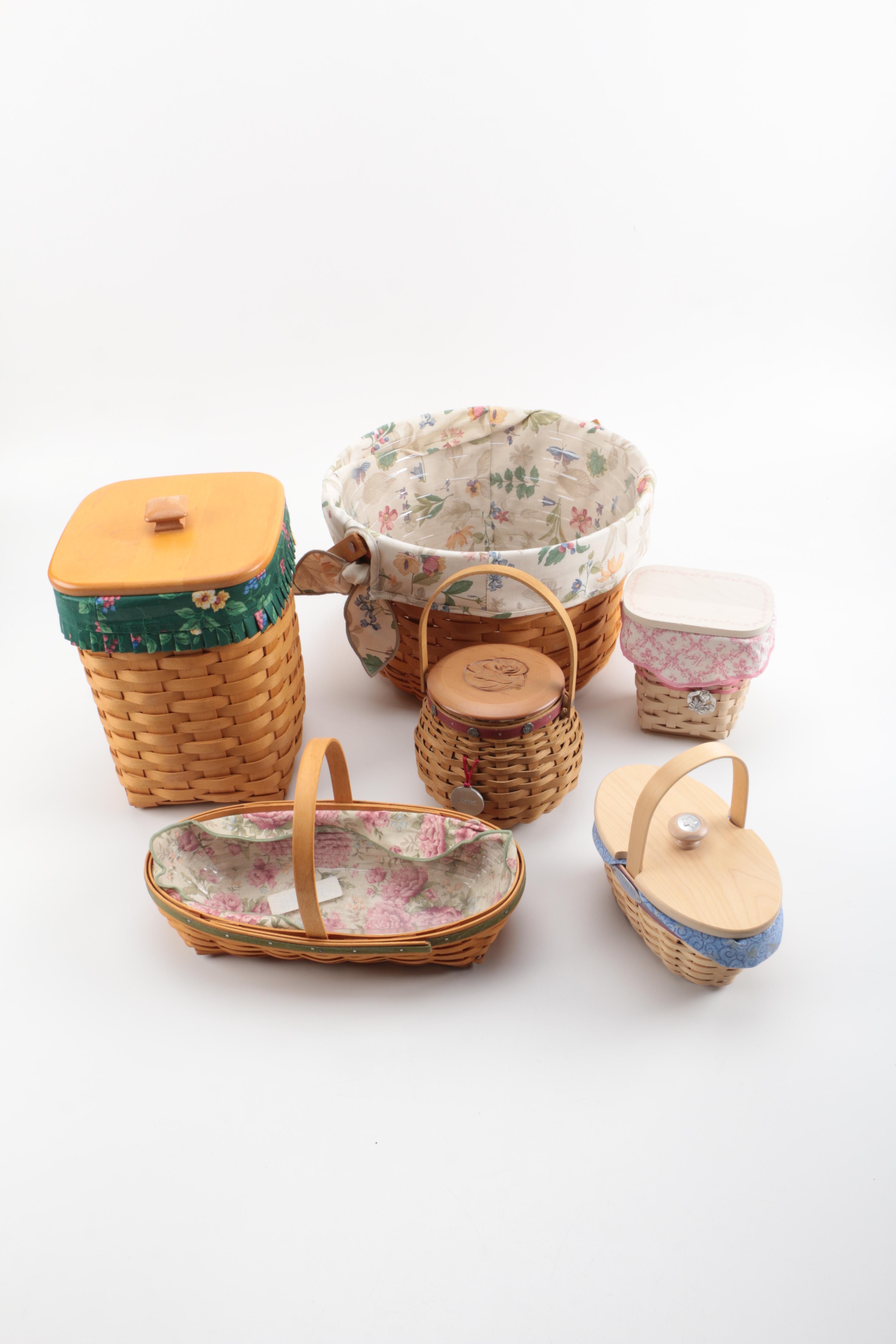 Assortment of Longaberger Baskets