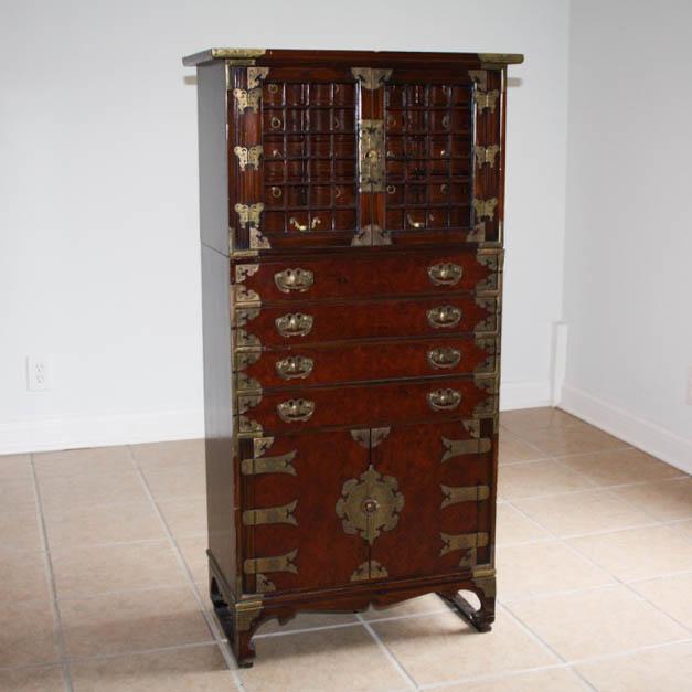 Vintage Korean Apothecary Cabinet : EBTH