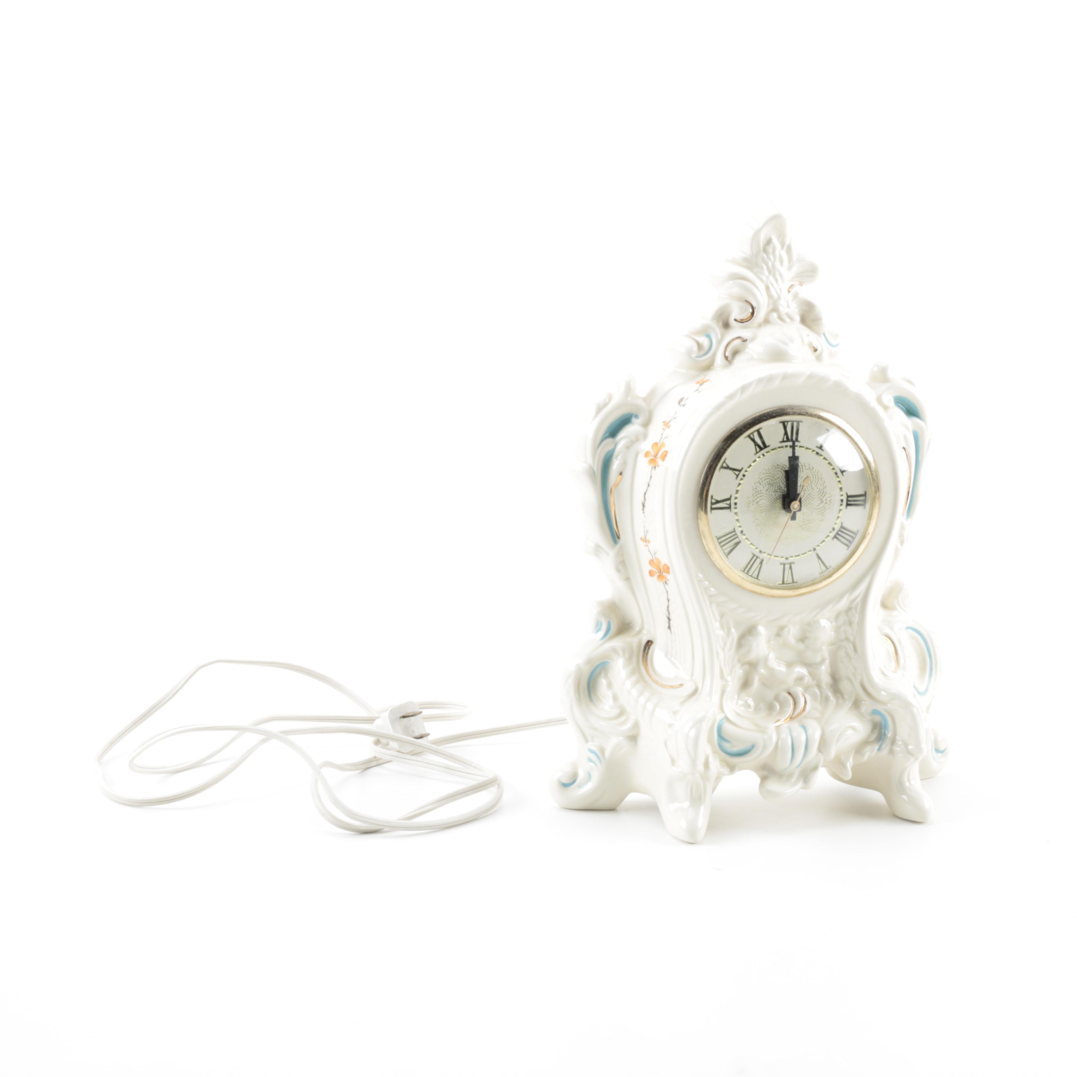 Vintage Lanshire Mantel Clock