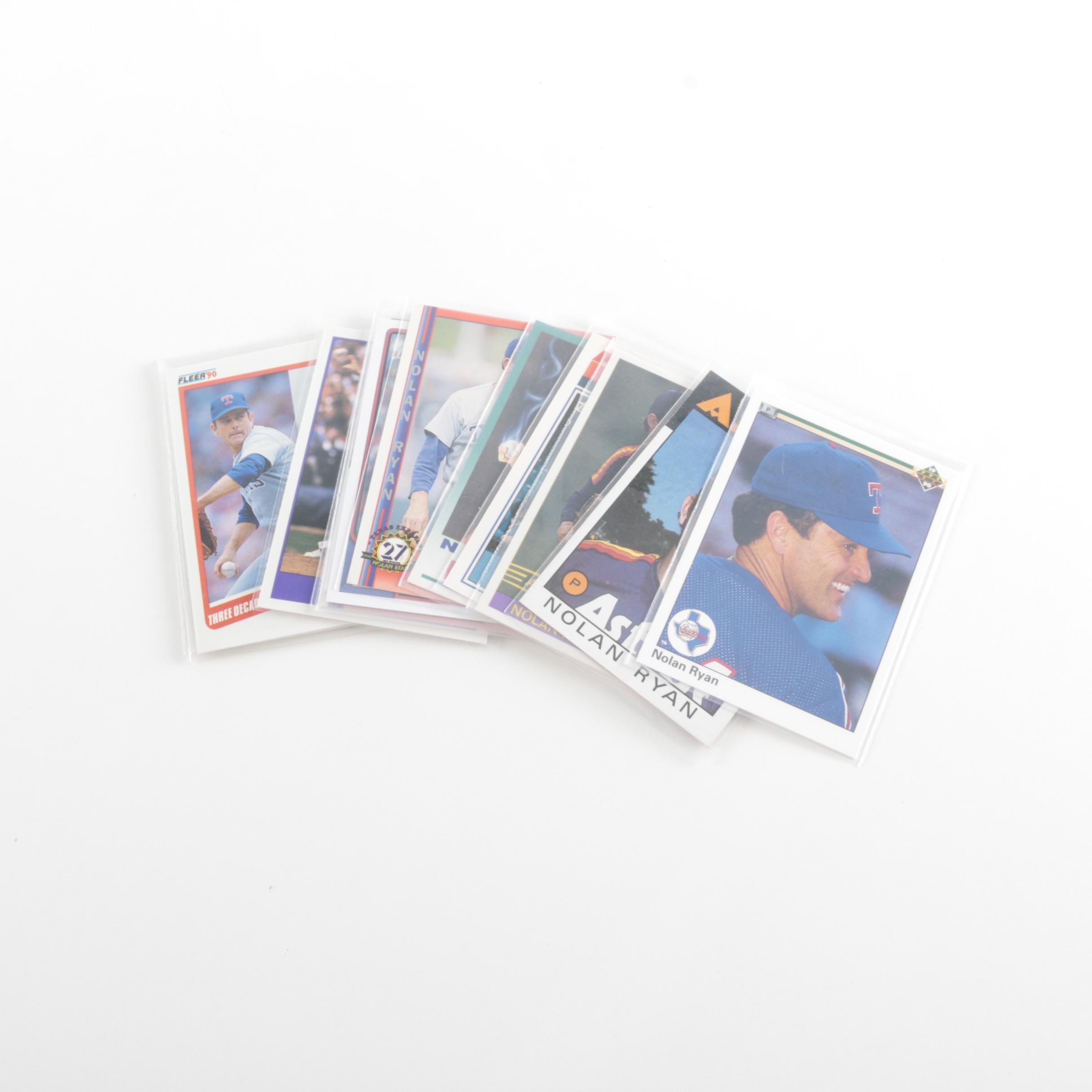 Nolan Ryan Baseball Card Collection