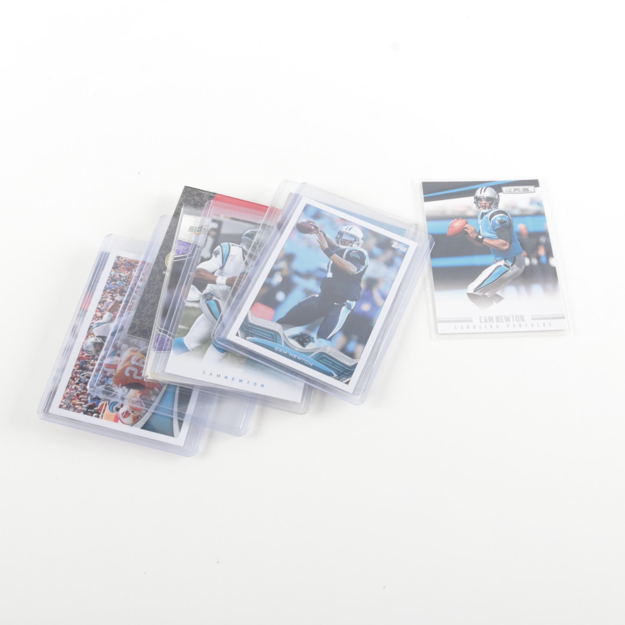 Football Card Assortment Including Champ Bailey Captain's Patch Card