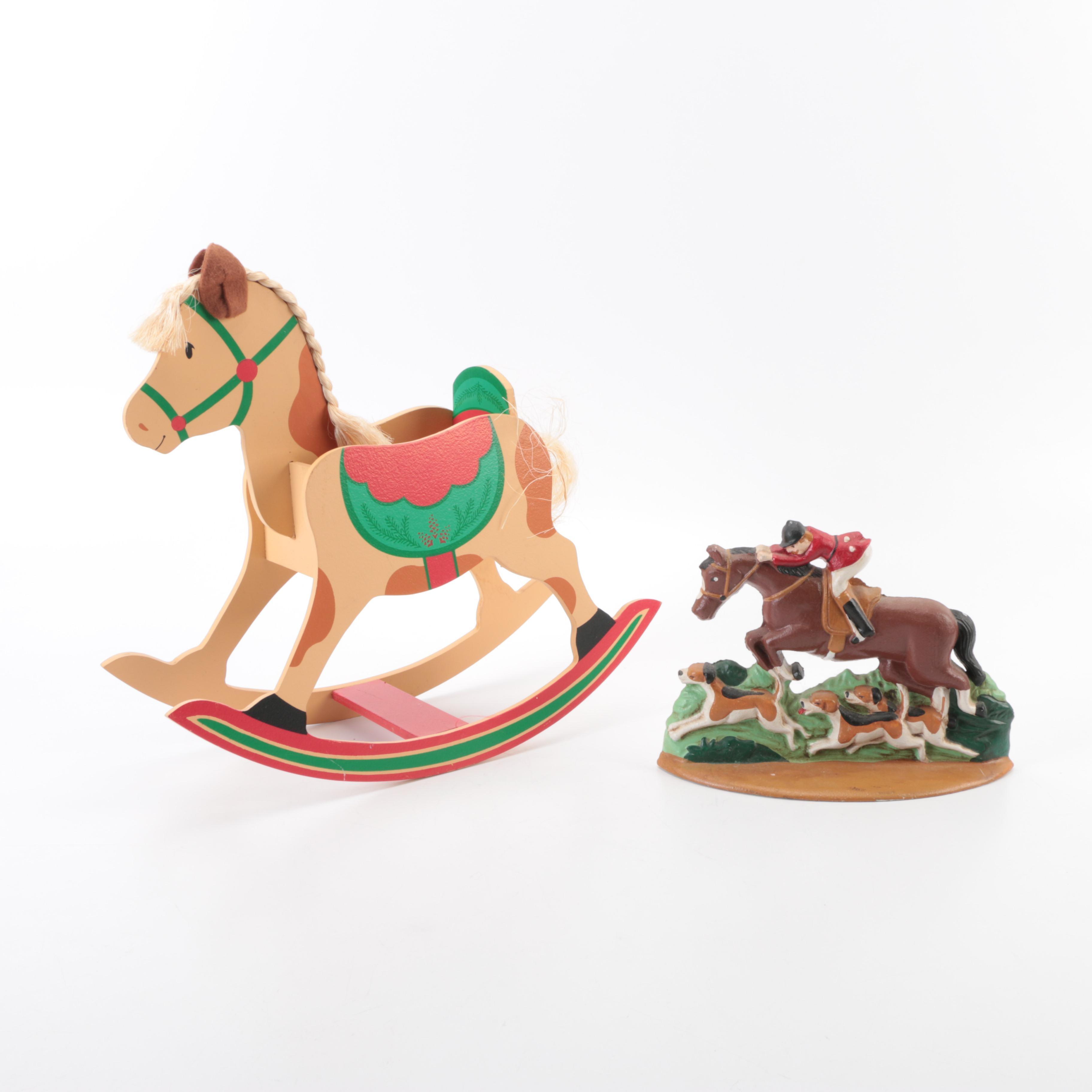 Decorative Horse Figurines